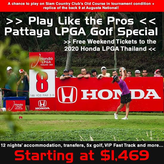 Special Offers Asia Golf | Discount Thailand Golf Holiday