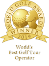 Awards-Worlds best golf tour operator 2019